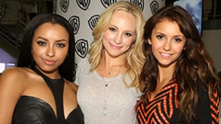 Vampire Diaries Stars Candice Accola, Kat Graham Share Favorite Nina Dobrev Memories With Us Weekly: Watch!