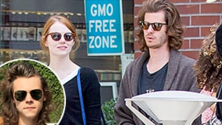 Andrew Garfield Channels Harry Styles' Voluminous Hair During Lunch Date With Emma Stone — See His Wild New Style