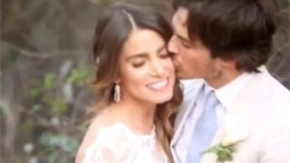 Nikki Reed, Ian Somerhalder Share Romantic Wedding Video, Celebrate One Month of Marriage