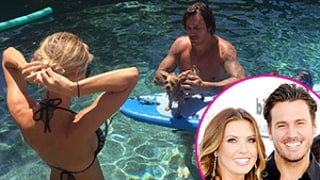 Audrina Patridge Pops Her Booty Out in Bikini Pic With On-Again Boyfriend Corey Bohan