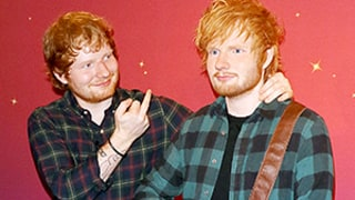 Ed Sheeran Gives Wax Figure Middle Finger, Loves Its Bulge: Photos!