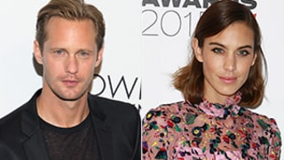 Alexander Skarsgard, Alexa Chung Are Dating! Details on the New Couple
