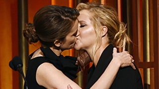 Tina Fey, Amy Schumer Make Out at Peabody Awards: Pics