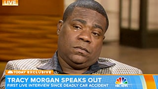 Tracy Morgan Breaks Down Crying in First Interview Since Car Accident