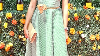 Freida Pinto: 8th Annual Veuve Clicquot Polo Classic