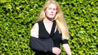 Heidi Montag Explains Why Her Arm Is in a Sling, Jokes She Looks Like RoboCop: Picture