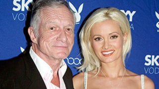 Hugh Hefner Says Ex Holly Madison Has