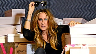 Sarah Jessica Parker Delivers Her Own SJP Collection Shoes to Bloomingdale's in NYC: See the Fantastic Photos!