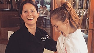 Minka Kelly Graduates Cooking School: See the Amazing Photos From Her Culinary School Diaries
