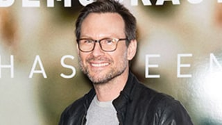 Christian Slater Opens Up About Reconnecting With His Estranged Father: