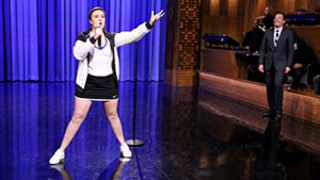 Lena Dunham Gets Down and Dirty in Lip Sync Battle With Jimmy Fallon: Watch Now!