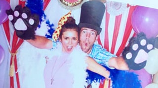Nina Dobrev Hams It Up With New Guy Austin Stowell at Jaime King's Baby Shower: Pictures