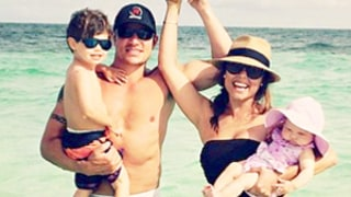 Nick, Vanessa Lachey Celebrate Her New TV Show With Kids Camden, Brooklyn in Cute Ocean Pic