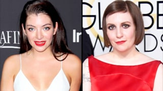 Lorde, Lena Dunham Dish on Taylor Swift's