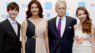 Catherine Zeta-Jones, Michael Douglas Hit Red Carpet With All-Grown-Up Teen Kids: Pic!