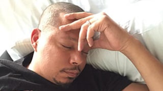 Terrence Howard Snuggles With Newborn Son Qirin Love: First Photo!