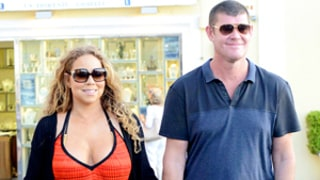 Mariah Carey Gets Cozy With Billionaire James Packer in Capri, Italy: Photos