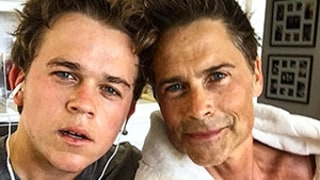 Rob Lowe Works Out With Really Hot Son John: Sweaty, Dreamy Photo!