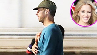 Chris Martin, Kylie Minogue Walk Arm in Arm During Late-Night London Stroll