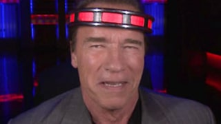 Arnold Schwarzenegger Has His Mind Read By Jimmy Fallon on The Tonight Show: Watch!