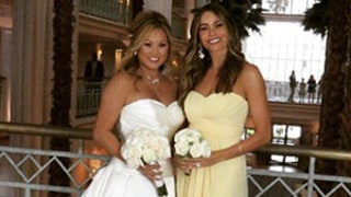 Sofia Vergara Serves as Bridesmaid in Friend's Wedding: See Her Dress, Plus Her Hot Date, Joe Manganiello