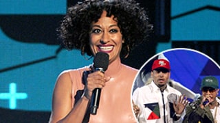 Did Tracee Ellis Ross Throw Shade at Tyga and Chris Brown at the BET Awards?
