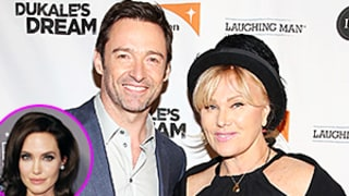 Hugh Jackman's Wife Jokingly Forbids Him From Working With Angelina Jolie: