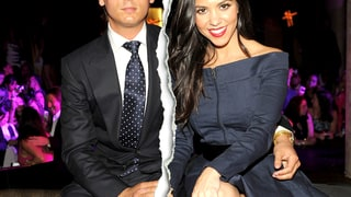 Kourtney Kardashian and Scott Disick