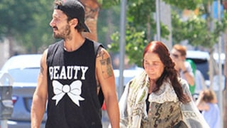 Shia LaBeouf and His Mom Make Us Go WTF! as They Go Out in Bizarre Outfits: Must-See Photo