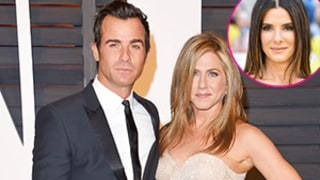 Jennifer Aniston, Justin Theroux Celebrate Fourth of July With Sandra Bullock, Jason Bateman