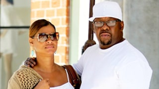 Bobby Brown Has Lunch Out With Pregnant Wife in Beverly Hills While Bobbi Kristina Remains in Hospice Care: Pics