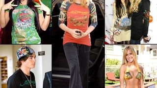 Celebrities Who Loved Ed Hardy: Vintage Photos