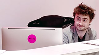 Daniel Radcliffe Is the Worst Receptionist Ever for Funny Prank Video: Watch!
