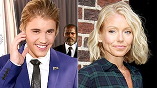Justin Bieber Has a Massive Crush on Kelly Ripa, Lusts Over Her Lingerie-Wearing Bod