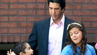David Schwimmer, Child Actors Look Identical to Young Kardashians on Set of American Crime Story — See the Photos
