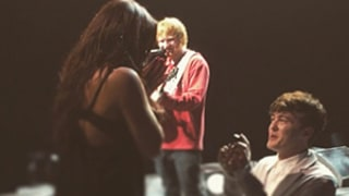 Ed Sheeran Helps Rixton Singer Jake Roche Propose to Girlfriend During Concert