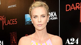 Charlize Theron Goes Sweet in a Pleated, Pink Minidress at Her First Post-Split Red Carpet Appearance: Photos!