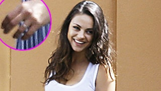Mila Kunis Returns to Work After Honeymooning With Ashton Kutcher, Shows Off Wedding Ring: See Photos