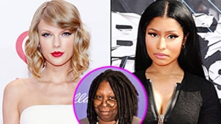 Whoopi Goldberg Talks Taylor Swift, Nicki Minaj Feud: