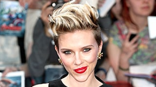 Scarlett Johansson Dyes Her Blonde Pixie Bright Black Widow-Red: See the Photos!