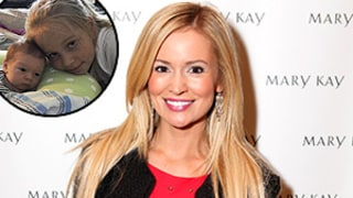 Emily Maynard Shares Cute Photo of Baby Boy and Daughter Ricki:
