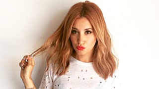 Ashley Tisdale Ditches Blonde Hair for Sultry