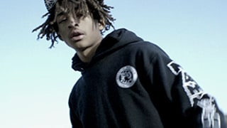 Jaden Smith Raps in Artsy