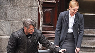 Charlize Theron, Sean Penn Forced to Reunite for Reshoots of The Last Face Following Split -- and They Looked Less Than Thrilled