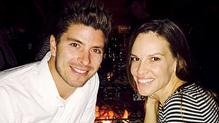 Hilary Swank Dines With Bachelorette Alum Kasey Stewart on 41st Birthday: Photo!