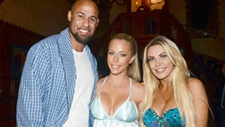 Kendra Wilkinson, Hank Baskett Hang With Crystal Hefner at Playboy Mansion Fete — See the Pic!