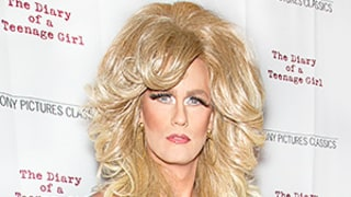 Alexander Skarsgard Slays in Drag on the Red Carpet: Check Out His Glitzy Gold Dress and Long Blonde Hair!