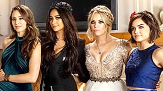 Pretty Little Liars Prom Episode: See the Dresses and Makeup in Behind-the-Scenes Photos!