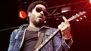 Lenny Kravitz Accidentally Flashes Penis During Concert After Splitting His Leather Pants -- Yes, Like His Whole Penis