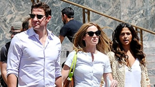 Emily Blunt Gets U.S. Citizenship in VIP Ceremony With Matthew McConaughey's Wife Camila Alves: Photos